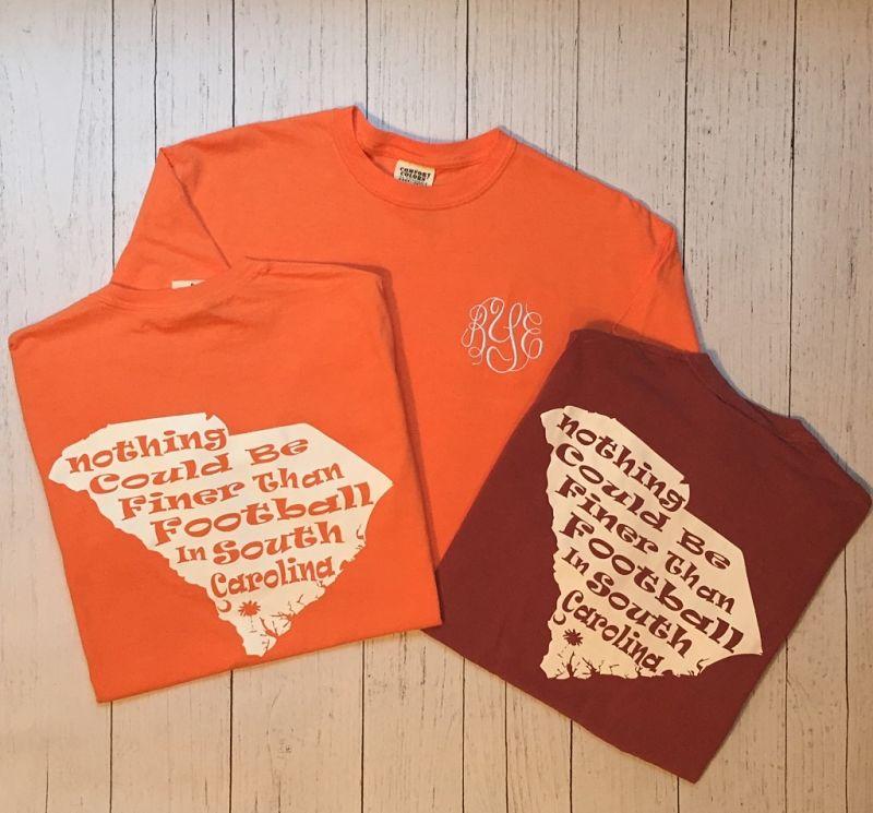 Comfort Colors SC Football T-Shirt