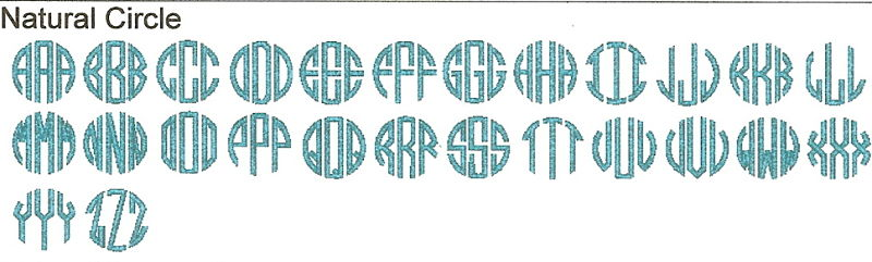 Monogram it by dm creations llc embroidery fonts