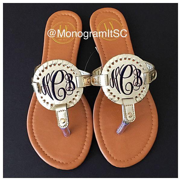Medallion Sandals