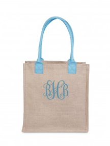 Buckhead Betties Jute Khaki Market Tote