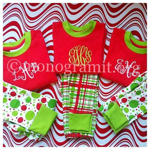 Children's Dot Christmas Pajamas