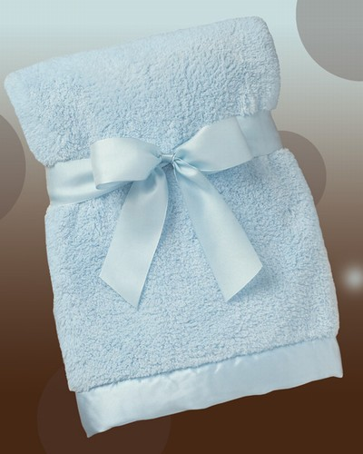 Bearington Baby Silky Soft Crib Blanket
