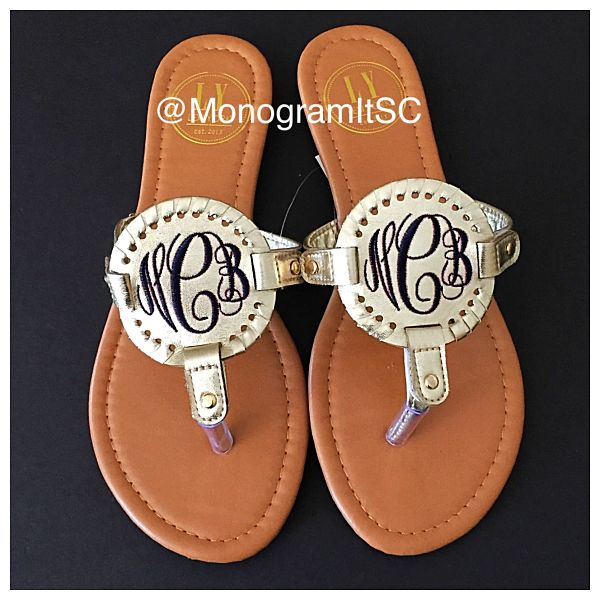 Interchangeable Disk Sandals