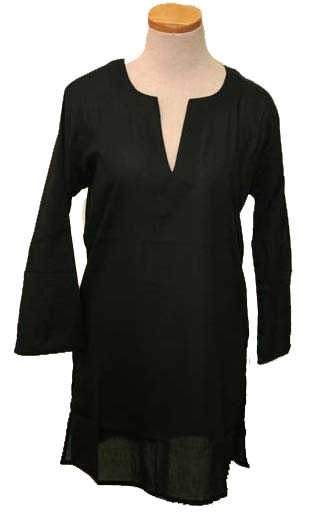 Black Tunic/Cover-up