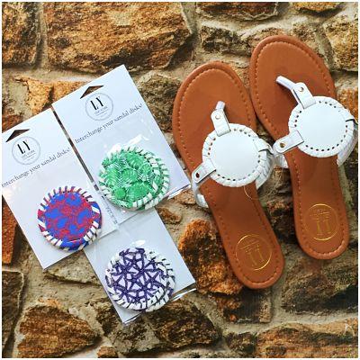Interchangeable Disks for  Sandals