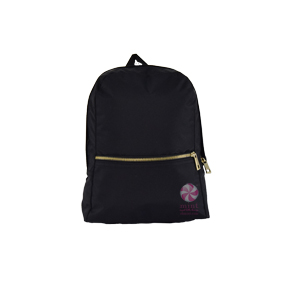 Black Brass Small Backpack by Mint Sweet Little Things