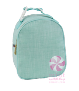 Chambray Insulated Gumdrop Lunch Box by Mint Sweet Little Things