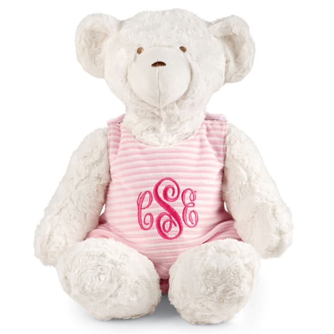 Mud Pie Monogram Me Bear