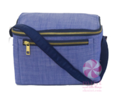 Chambray Insulated Lunch Box by Mint Sweet Little Things