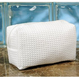 Pendergrass Waffle Spa/Cosmetic Bag