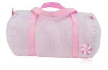 Seersucker Baby Duffel by Mint Sweet Little Things